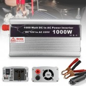 DOXIN 1000W DC 12V to AC 220V Power Inverter Car power inverter with USB port 1000W - Silver
