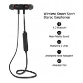 XT-6 Metal Sports Bluetooth Headphone Noise Proof Earphone Magnetic Earpiece Stereo Wireless Headset