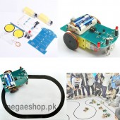 Intelligent Tracing Car Kit Trace Intelligent Track Line Car DIY Kit
