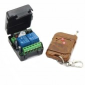 DC 12v 10A relay 2CH 2 channel wireless Remote Control Switch Transmitter+ Receiver