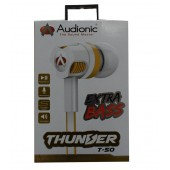 Audionic Thunder T-50 Universal Earphone With Extra Bass