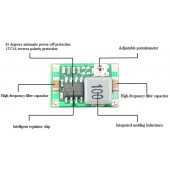 Mini 360 DC-DC Buck Converter Step Down LM2596 Module 2A