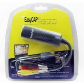 Easycap USB 2.0 Easy Cap Video TV DVD VHS DVR Capture Adapter Easier Cap USB Video Capture Device Support Win7/8/10