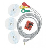 ECG Monitoring Sensor Module AD8232 Kit for Measuring Heart Pulse