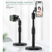 Smartphone Round Base L7 Retractable Multifactional Mobile Holder Stand