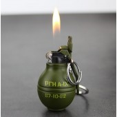 M-27 Hand Grenade Lighter, Gas windproof lighters With Keychain