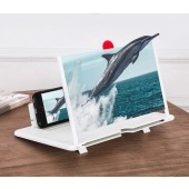 Mobile Phone Screen Magnifier Foldable 3D Screen Amplifier Holder Stand