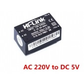 3W Ultra-compact Power Module HLK-PM01 220V AC to 5V DC, 600mA PCB Mounted Step-Down