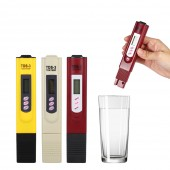 TDS Meter Tester 0-9990 Digital LCD Water Quality Testing Pen Purity Filter PPM TEMP