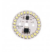 SMD LED bulb with chip 12W AC220V input Smart IC LED Bean for cold white bulb