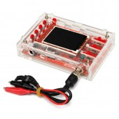 "Clear Acrylic Case DIY Box Shell for DSO138 2.4"" TFT Digital Oscilloscope"