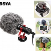 BOYA BY-MM1 compact video recording microphone camera recording microphone