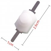 Latching Torch Push Button Mini