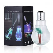 Ultrasonic Bulb Shaped Air Humidifier LED USB Aroma Air Humidifier for Home