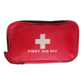 FIRST AID KIT Bag with Bandages Stitchings Scissor etc