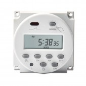 CN101A 220V Digital Programmable Timer LCD Power weekly 7days  Switch Relay 16A