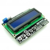1602 LCD Board Keypad Shield Blue Backlight