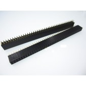 2.54mm 2* 40 Pin Female Double Row Pin Header Strip