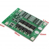 3S 25A Li-ion 18650 BMS PCM Battery Protection Board With Balance