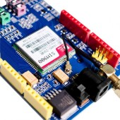 GPRS/GSM Arduino Shield Development Board Quad-Band SIM900 Module with sim card conversion