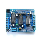 Motor Drive Shield L293D for Arduino Duemilanove Mega