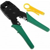 Professional RJ45 RJ11 Network Cable Crimping Tool