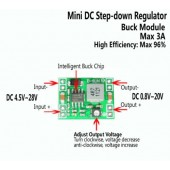 XM1584 MP1584 Ultra-small size DC-DC step-down power supply module 3A