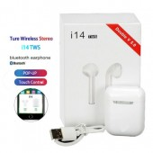 i14 tws airpods Bluetooth 5.0 Earphone Earbuds Touch Control Bluetooth earbuds