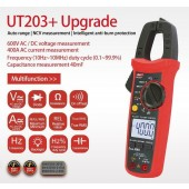 UT203+ DIGITAL 600V AC DC LED CLAMP METER MULTIMETER True RMS ADC/ADC Converter