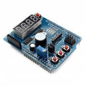 DIY Multi-function Shield Expansion Board for Arduino