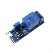 5V-30V Micro USB Power Adjustable Delay Relay Timer Control Module Trigger Delay Switch
