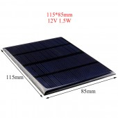12V 1.5W Solar Panel for Cellular Phone Charger Home Light Toy etc Solar Cell DIY