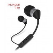 Audionic Thunder Universal Earphone With Extra Bass – T-40