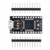 Pro Micro With the bootloader Black ATmega32U4 3-18V/16MHz Module controller Mega32U4 leonardo for arduino