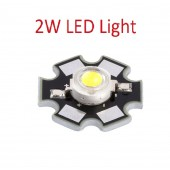 2W High Power White LED Light Emitter 3000-3500K with Star Base
