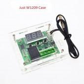 W1209 Digital Temperature Control Module Clear Acrylic Case Shell Kit