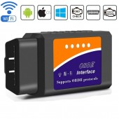 V1.5 ELM327 car wifi OBD 2 OBD2 OBDII scan tool Foseal scanner adapter check engine light Diagnostic Tool for iOS and Android