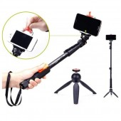 Self Picture Monopod and Selfie Stick and Mini Tripod Stand For Mobile Phones