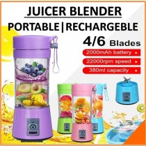 YE-02 Blender 380ml Portable USB Rechargeable Juicer Mini Juice Extractor Household Juice
