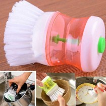 Hydraulic Dishwasher brush pot Washing Utensils Pot Dish Brush