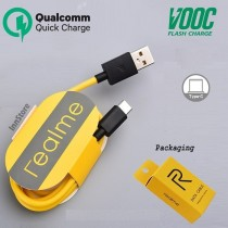 Realme Type-C Fast Charging Cable Data USB Support VOOC Cable
