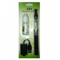 Rechargeable CE8 E Cigarette Starter Kit Electronic Cigarette Pen Type With One Flavor