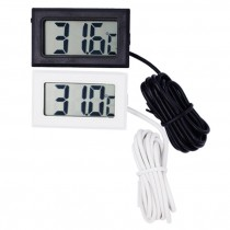Digital LCD Thermometer Temperature Gauge Aquarium Thermometer with Probe