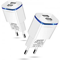 Quick Charger 3.1A 2 USB Port Wall Charger For Smart Phones