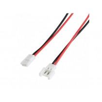 2 Pin SM 2.0mm Female Male Connector Cable Plug With 10cm Wire
