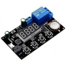 VHM-018 DC 5V Real Time Timer Timer Relay Module,Clock Synchronization, Multi-Mode Control