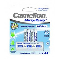 Camelion 1.2V AA 1000mAh Rechargeable Ni-MH battery