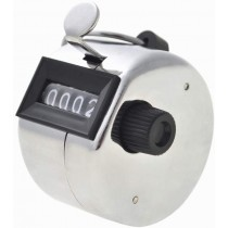 Hand Tally Counter- 4 Digit Metal Handheld Clicker Lap Counter