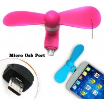 Fan Portable travel Mobile Phone Mini Electric Fan Cooling USB Cooler for phone