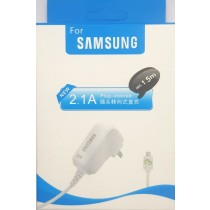 2.1A 5V Wall Charger for phone White